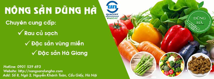 Dũng Hà – Chuyên cung cấp thực phẩm sạch, nông sản đặc sản tại Hà Nội