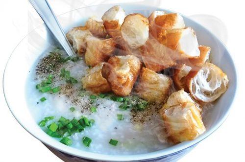 cháo hồ tây - đồ ăn đêm hà nội