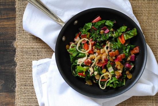 Cách làm món salad cải cầu vồng ngon ngot cho chị em phụ nữ