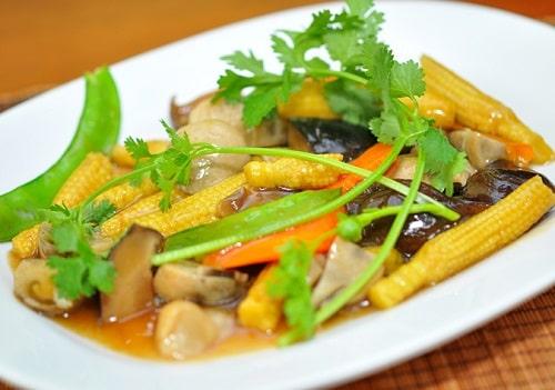 Ngô bao tử chế biến thành nhiều món ăn ngon