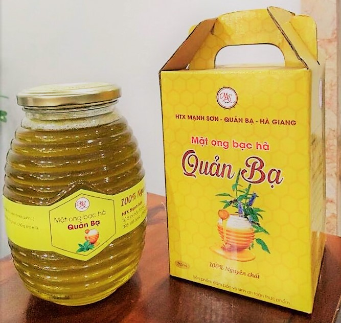 Giá mật ong bạc hà tại Hà Nội hiện nay