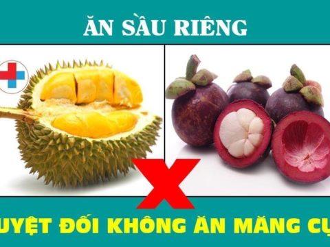Cảnh báo 7 loại thực phẩm không được ăn cùng sầu riêng