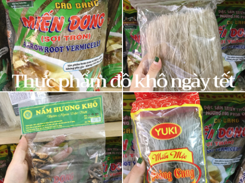 Đón tết với top 4 loại thực phẩm đồ khô ngày tết không thể thiếu