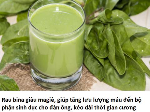 Những thực phẩm hàng ngày tăng cường sinh lực mà các bạn chưa biết
